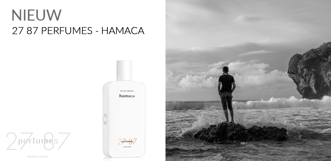 hamaca van 2787 perfumes vanaf februari 2018 bij Sandra Bruyns